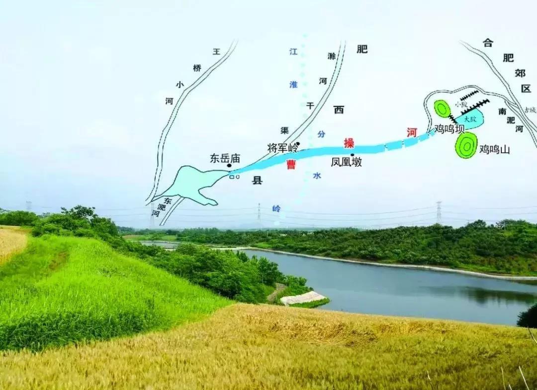 合肥运河新城规划示意图